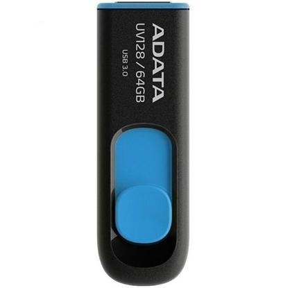 فلش مموری  ای دیتا مدل UV128 ظرفیت 64 گیگابایت