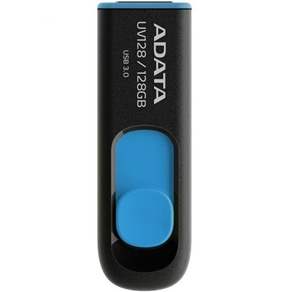 فلش مموری ای دیتا  مدل UV128 ظرفیت 128 گیگابایت