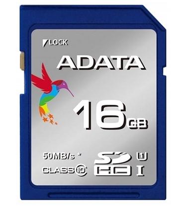 کارت حافظه ای دیتا مدل SDHC UHS-I ظرفیت 16 گیگابایت