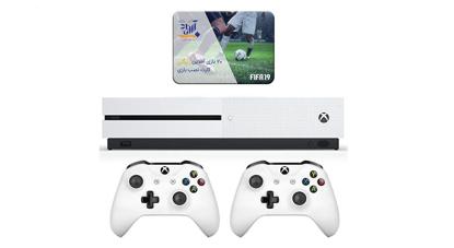 مجموعه کنسول بازی مایکروسافت مدل Xbox One S