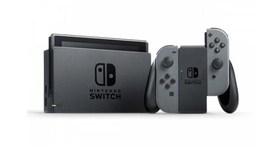 کنسول بازی نینتندو مدل Switch Gray Joy-Con - خرید کنسول بازی