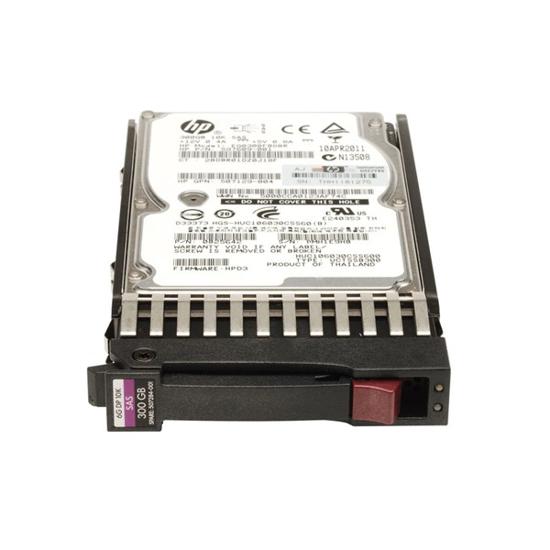 HP 300GB 6G SAS 10K rpm SFF (2.5-inch) Dual Port Enterprise Hard Drive 507127-B21 - هارد سرور