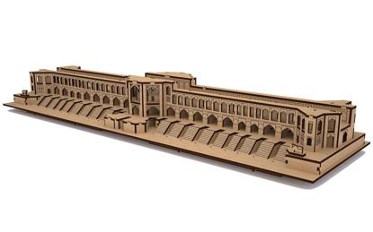 پازل سه بعدی چوبی پل خواجو اصفهان