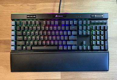 بررسی اجمالی صفحه کلید Corsair K95 RGB Platinum XT
